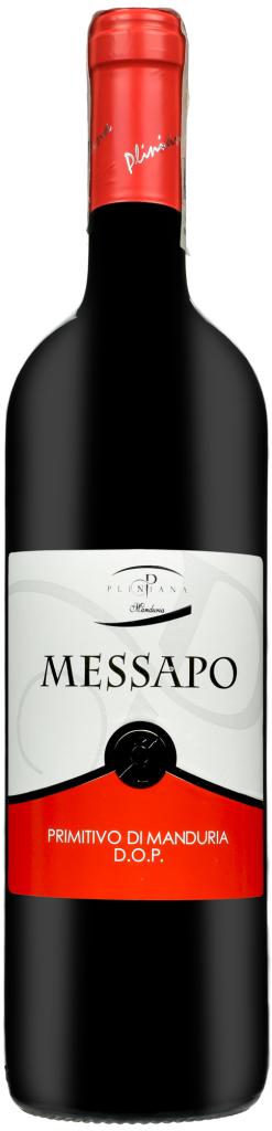 Wino Pliniana Messapo Primitivo di Manduria DOP2015