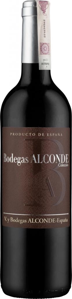 Wino Alconde Semi Dulce Coleccion Tinto