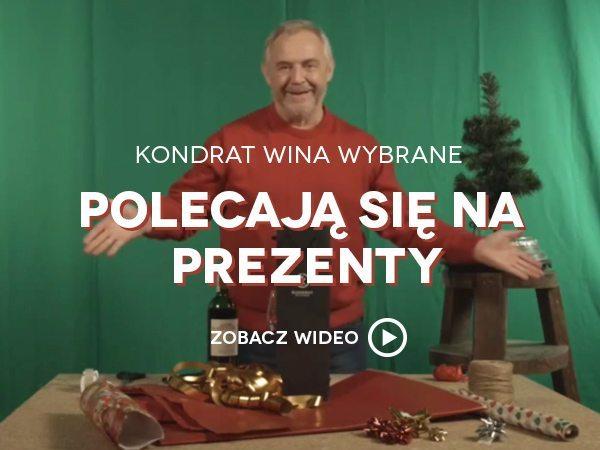 Marek Kondrat prezent-uje. Zobacz wideo
