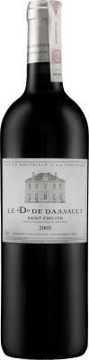Wino D de Dassault Saint-Émilion AC