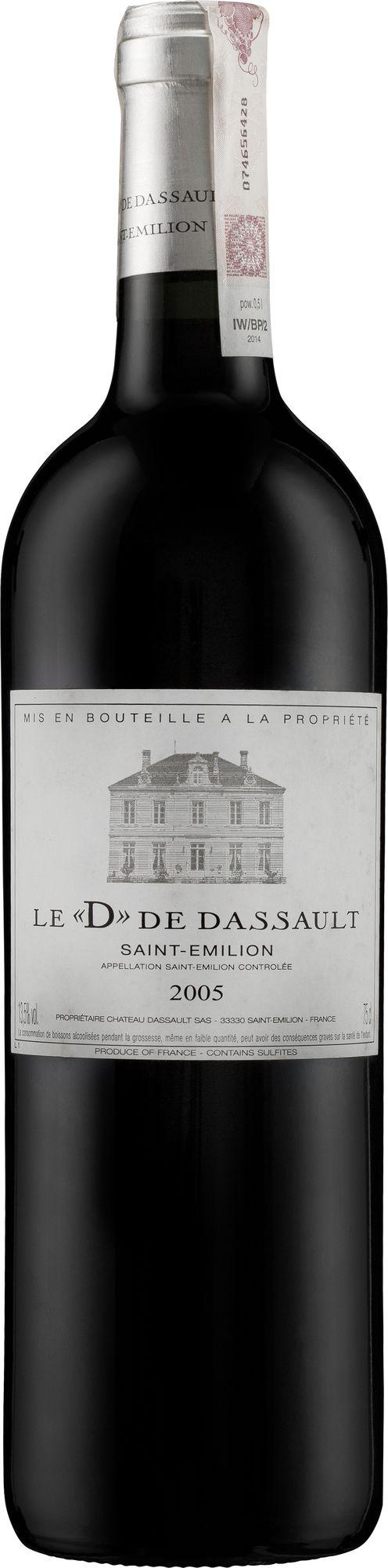 Wino D de Deessault z 2005 roku