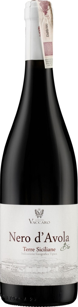 Wino Vaccaro Bio Nero d'Avola Terre Siciliane IGT