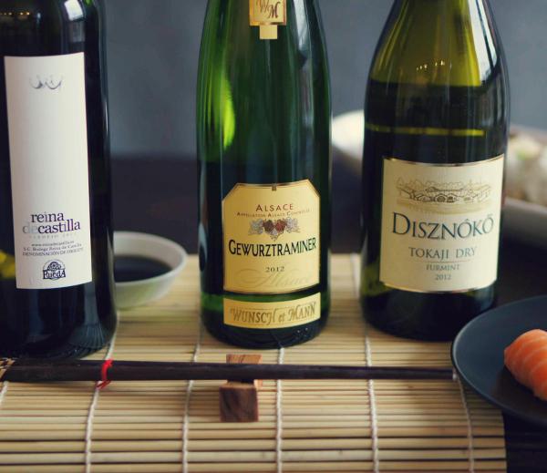 Wino isushi – japońska łamigłówka