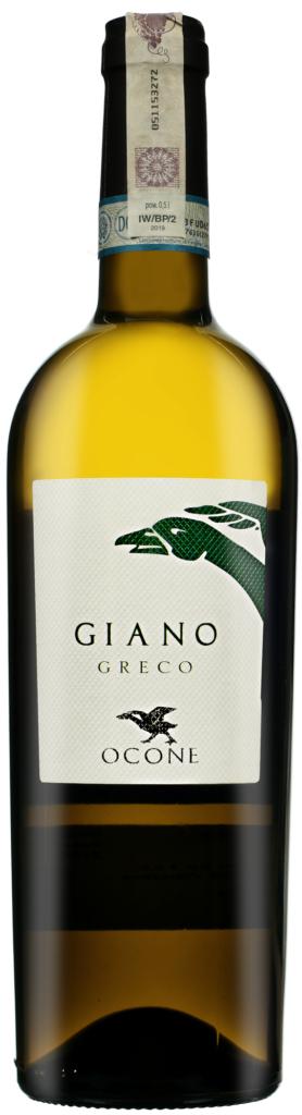 Wino Ocone Giano Taburno Sanio Greco DOP 2019