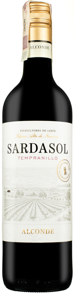 Wino Alconde Tempranillo Vina Sardasol Navarra DO 2020