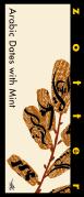 """Zotter czekolada nadziewana """"Arabic Dates with Mint"""" (70 g)"""