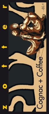 """Zotter czekolada nadziewana """"Cognac + Coffee"""" (70 g)"""