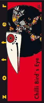 "Czekolada nadziewana Zotter Chilli ""Bird's eye"" (70 g)"