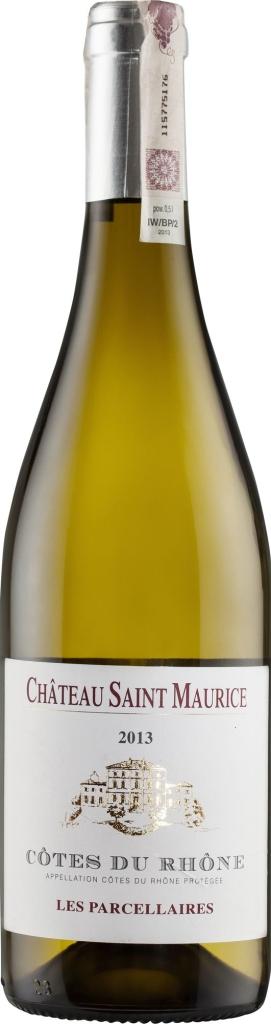 Wino Château St. Maurice Parcellaires Blanc Côtes du Rôhne AC