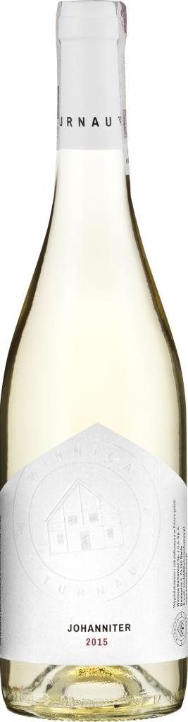Wino Winnica Turnau Johanniter półsłodkie 2014