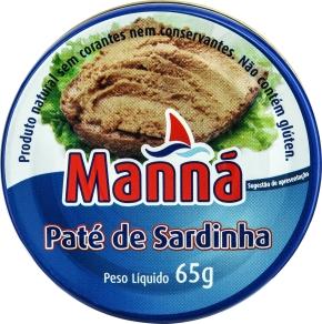 Pasta z sardynek Manná (65 g)