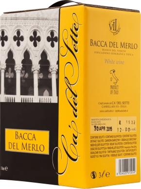 Bag-in-Box: Ca' del Sette Bacca Del Merlo Bianco Veneto IGT