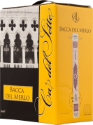 Wino Bag-in-Box: Ca' del Sette Bacca Del Merlo Bianco Veneto IGT 3 l
