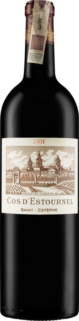 Wino Château Cos d'Estournel 2.GCC St. Estephe AC2001