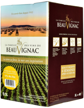 Bag-in-Box: Saveurs de Pomerols Blanc Pays de Thau IGP