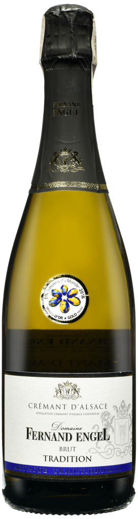Wino Fernand Engel Tradition Cremant d'Alsace AOC 2016
