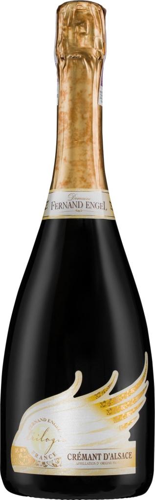 Wino Fernand Engel Trilogie Cremant d'Alsace AC 2010