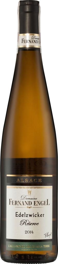 Wino Fernand Engel Edelzwicker Reserve Alsace AC 2016