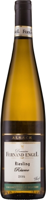 Wino Fernand Engel Riesling Reserve Alsace AC 2017