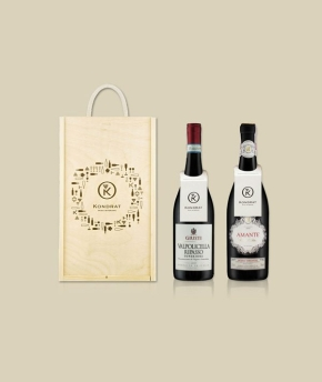 Wina z Veneto w skrzynce