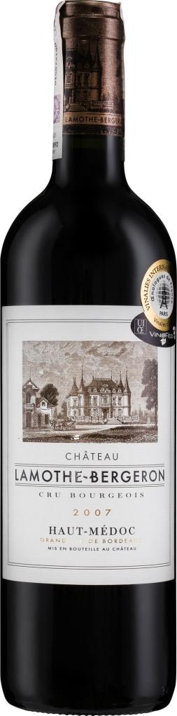 Wino Château Lamothe Bergeron Cru Bourgeois Haut-Médoc AC