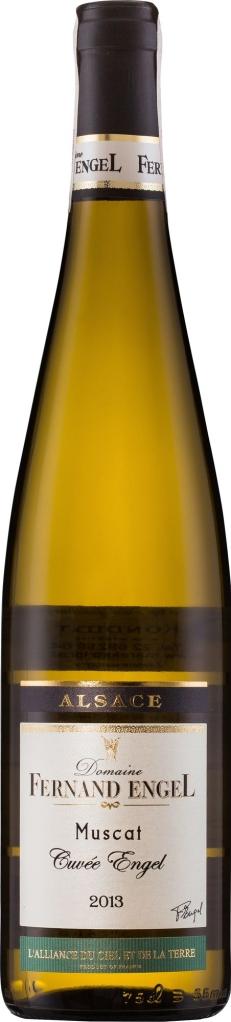 Wino Fernand Engel Muscat d'Alsace Cuvée Engel Alsace AC 2015