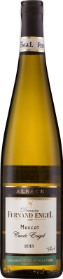 Wino Fernand Engel Muscat d'Alsace Cuvée Engel Alsace AC 2017