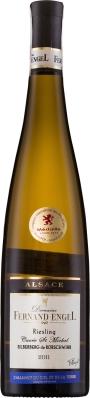 Wino Fernand Engel Riesling Silberberg Alsace AC 2016