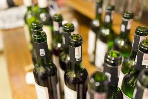 butelki po winach