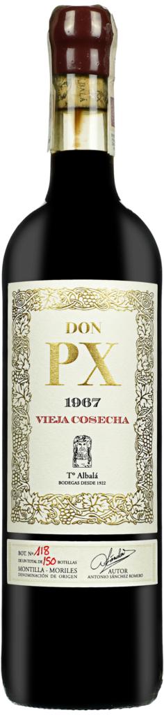 Wino Toro Albalá Don P.X. Selección Montilla-Moriles DO 1967