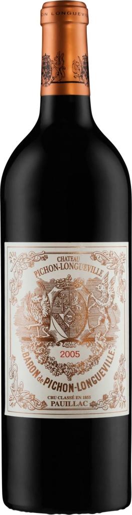 Wino Château Pichon Longueville Baron 2.GCC Pauillac AC 2005