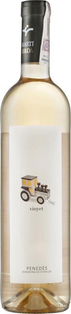 Wino Martí Serda Vinyet Blanco Penedes DO