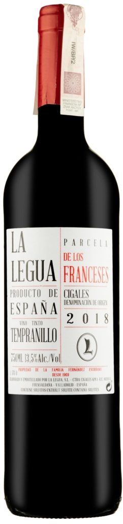 Wino La Legua Parcela Los Franceses Roble Cigales DO 2018