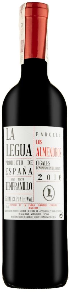 Wino La Legua Parcela Los Almendros Crianza Cigales DO 2016