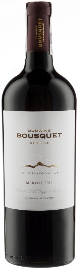 Wino Domaine Bousquet Reserva Merlot Mendoza Tupungato