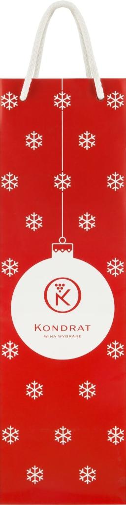 Torebka papierowa ze świąteczną grafiką