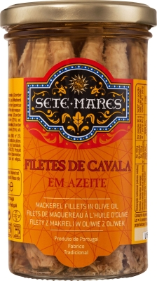 Filety z makreli Sete Mares w oliwie (250 g)