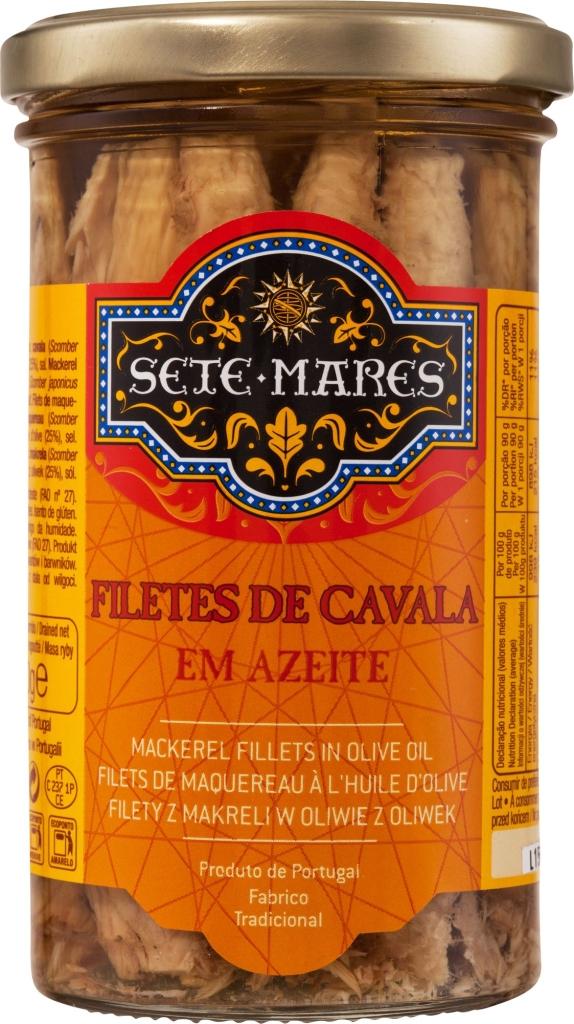 Sete Mares filety z makreli w oliwie (250 g)