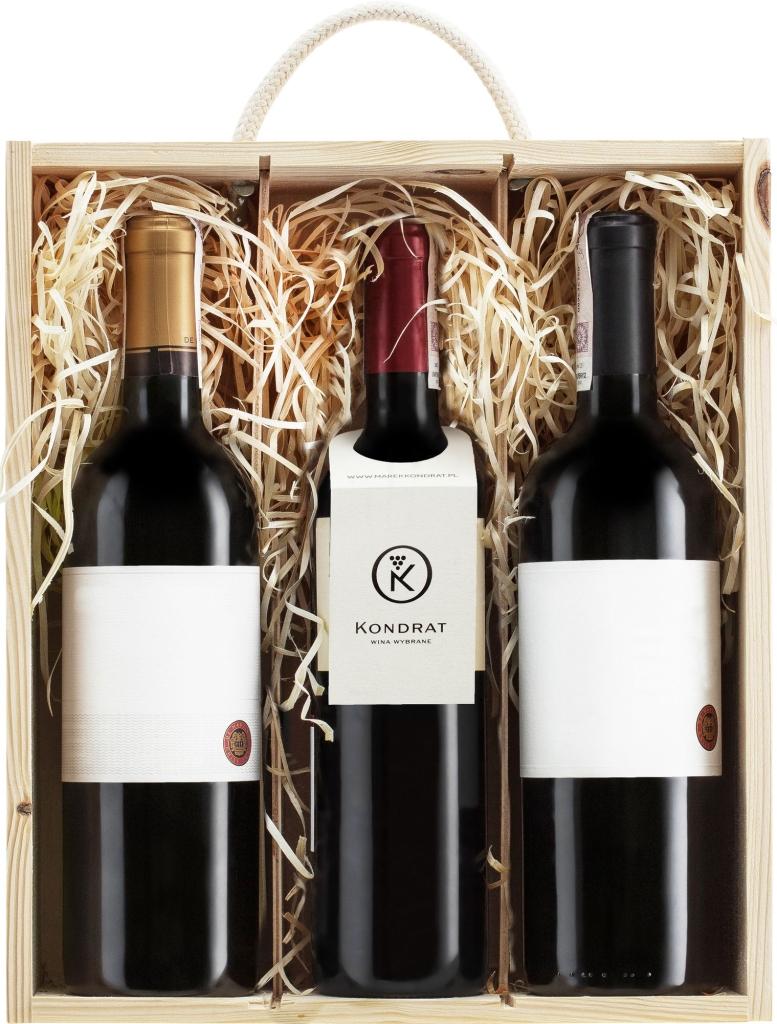 Wina z Chile w skrzynce