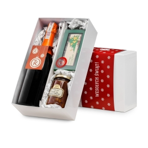 Pudełko świąteczne: Pliniana i słodkie dodatki