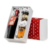 Pudełko świąteczne: 1 wino i wytrawne dodatki