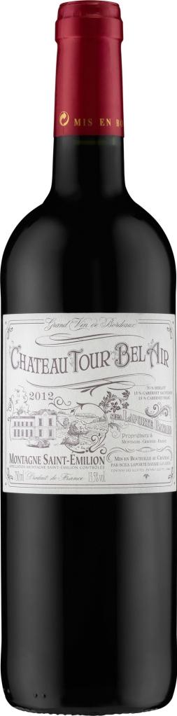 Wino Château Tour Bel Air Montagne Saint-Émilion AC 2015