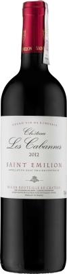 Wino Château Les CabannesSaint-Émilion AC 2018
