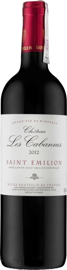 Wino Château Les CabannesSaint-Émilion AC 2014