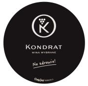 Dropstop z logo Kondrat Wina Wybrane
