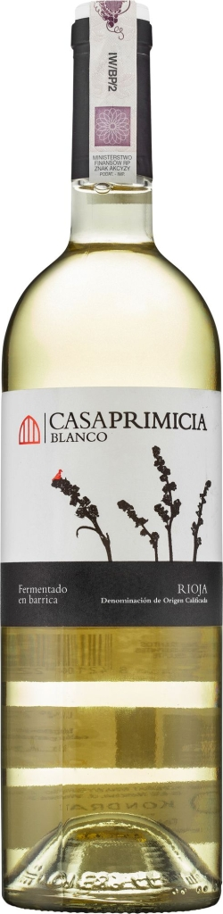 Wino Casa Primicia Blanco Barrica Rioja DOCa
