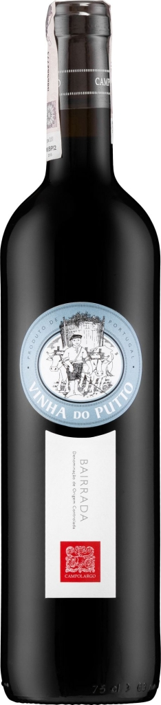 Wino Campolargo Vinha do Putto Red Bairrada DOC 2013
