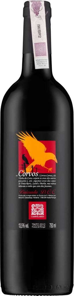 Wino Campolargo Os Corvos Bairrada DOC 2013