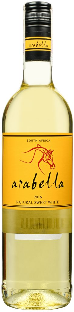 Wino Arabella Natural Sweet White Western Cape WO 2017