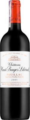Wino Château Haut-Bages Libéral 5.GCC Pauillac AC 2005